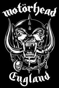 Motorhead HUGE War Pig Snaggletooth Black Canvas Back Patch  Motorhead