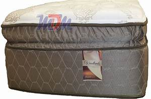 25 x 67 woodlands pillow top a low cost premium mattress With best soft pillow top mattress