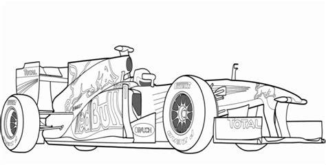 Kleurplaat Raceauto Bull by Raceauto Kleurplaat Nieuw Kleurplaat Formule 1 Bull