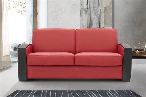 canapé lit rapido canape lit systeme rapido molitor cuir eco avec