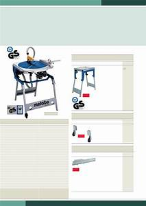 Page 8 Of Metabo Saw Kgt 300 User Guide