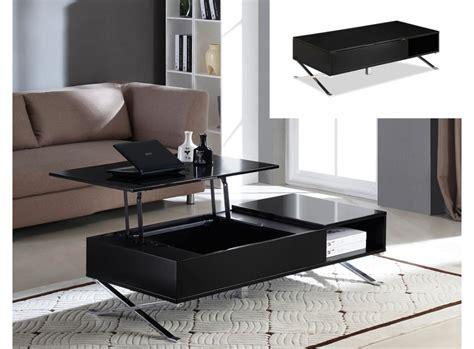 table basse avec plateau relevable pas cher table basse vente unique table basse alpha plateau relevable prix 229 99 euros ventes pas