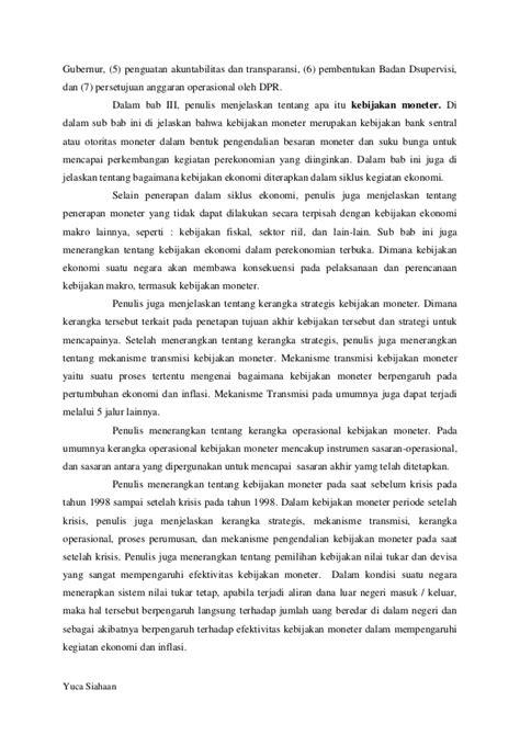 """Resensi Buku """"Bank Indonesia Bank Sentral RI: Sebuah"""