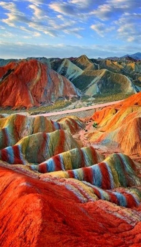 eurasian overseas  twitter magical rainbow mountains