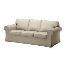 Ektorp sofa tygelsjo beige ikea for Beige slipcover sofa