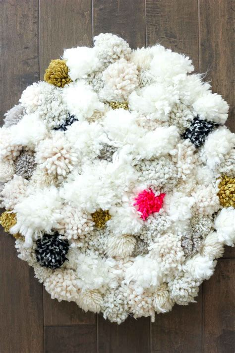 Pom Pom Rug by 12 Unique And Modern Diy Nursery Decor Ideas