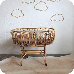 Lit Bébé Berceau : lit berceau b b ancien atelier du petit parc ~ Teatrodelosmanantiales.com Idées de Décoration