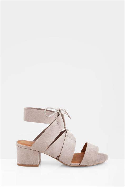 taupe color heels taupe heels open toe heels suede heels chunky heels