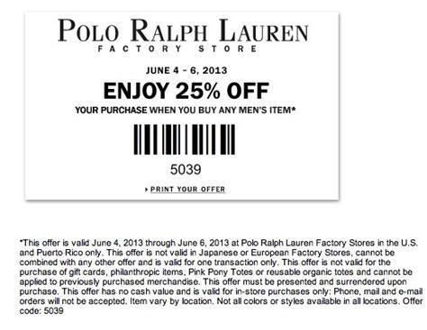 9ed1b9ab2 Polo ralph lauren coupon canada