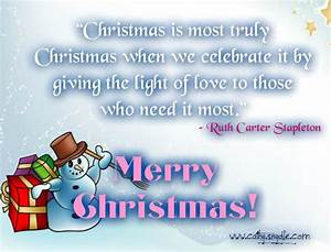 Free Christmas Quotes and Sayings - Cathy