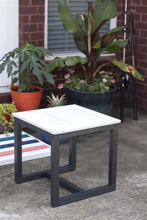 outdoor side table shop patio tables at lowescom