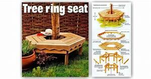 Tree Bench Plans • WoodArchivist