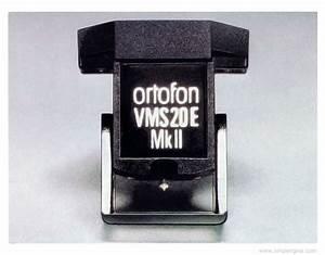 Ortofon Vms 20 - Manual