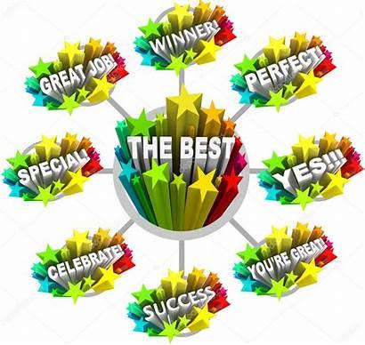 Job Words Appreciation Kudos Congratulations Praise Clipart