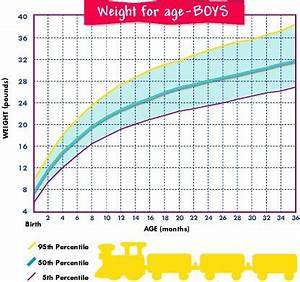 Weight Chart For Boys Birth 36 Months Baby