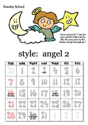 Sunday School Calendar Template by Free Printable Sunday School Calendars Images And