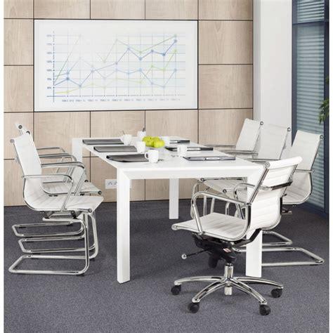 fauteuil de bureau cuir blanc fauteuil de bureau courol en simili cuir blanc