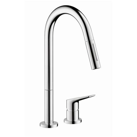 magnetic kitchen faucet hansgrohe axor 34822001 chrome citterio pull down kitchen faucet with high arc spout magnetic