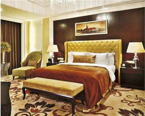 china luxury star hotel president bedroom furniture sets