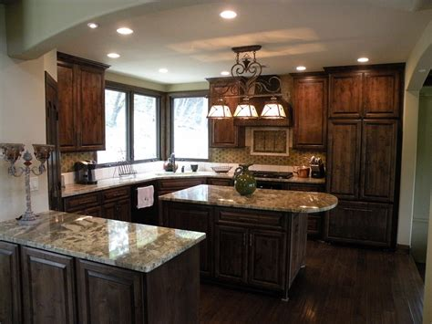 dark brown kitchen cabinets white kitchen cabinets dark floors