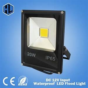 Free shipping dc v waterproof led flood light lamp w