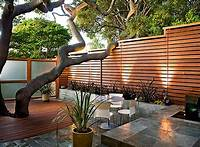 magnificent patio fence design ideas Easy Cheap Landscaping Ideas For Fence Landscape And Quick ...