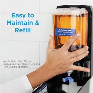 Pacific Blue Ultra Soap  Sanitizer Manual Dispenser Refill