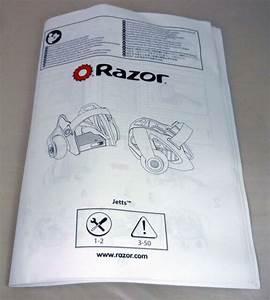 Razor Jetts Heel Wheels Scooter Intruction User Guide
