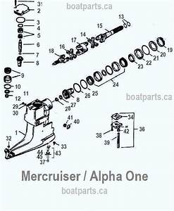 Mercruiser Pre Alpha Outdrive Diagram