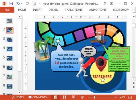 board game powerpoint template  dcpedestriancom