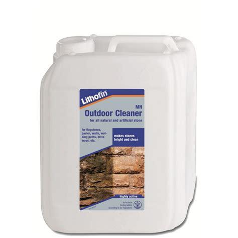 mn nettoyant exterieur bidon 5 litre lithofin produits pour l ext 233 rieur assortiment