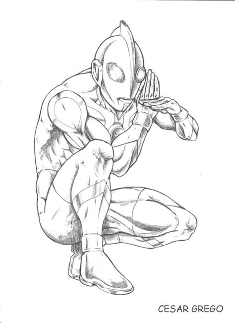 Coloring Ultraman Pictures by Ultraman Coloring Pages Printable Coloring Pages