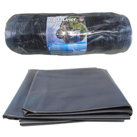 liner pour bassin exterieur b 226 che bassin de jardin aqualiner 4 x 6 m 233 paisseur 0 5 mm