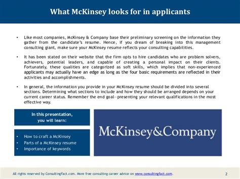 strategic management consultant resume