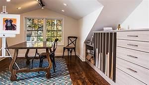 Window Detail Professional Artist Storage Attic Renovation With Slanted