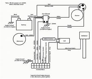 Marine Chevy 454 Wiring Diagram