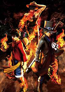 One Piece: Burning Blood - Monkey D. Luffy, Portgas D. Ace ...