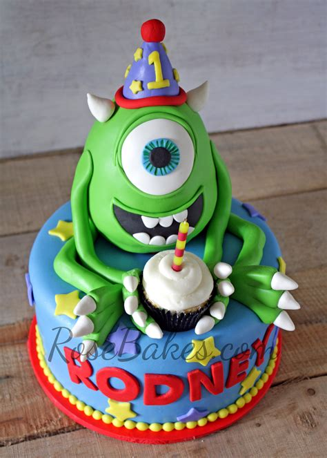 monsters inc cake mike wazowski monsters inc cake bakes