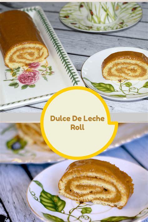 dulce de leche roll recipe living sweet moments