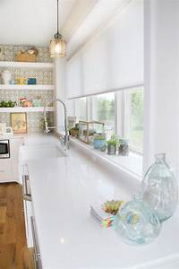 Window sill decorating ideas kitchen eclectic with window