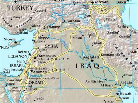 map  modern iraq black obelisk bible history