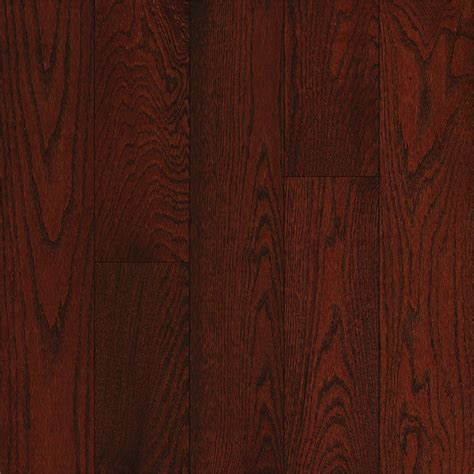 kitchen collection reviews shop bruce oak hardwood flooring sle cherry at lowes com