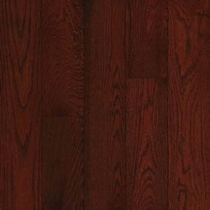 Shop Bruce Oak Hardwood Flooring Sample (Cherry) at Lowes com