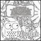Coloring Wisdom Pages Bible Proverbs Sheets John Kjv Verse Plan Printable Children Christian Word Sunday Catechism Treasure Pokemon Pj Sketchite sketch template