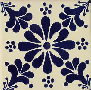 Mexican Talavera Tile – HAD015 Hadeda Tiles