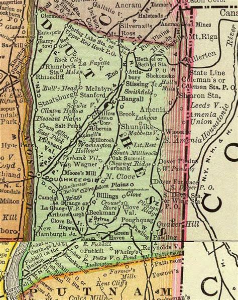 dutchess county  york map autobedrijfmaatje