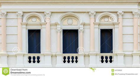 european style balcony   grand palace bangkok