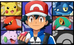 Pokemon Ash's Kalos Team