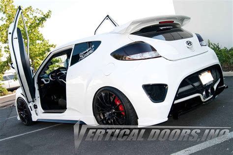 vertical doors  velosterveloster turbo   socal garage works