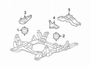 Cadillac Sts Automatic Transmission Mount  Awd  Engine